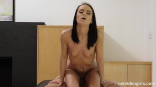 Kylie - 19 Yr Old Has Body Shaking Orgasms