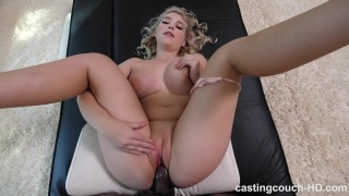 Taylor - Sexy Thick White Girl Enjoys First Black Cock