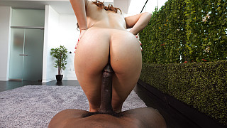Keilani - Creampied While Riding A Huge BBC