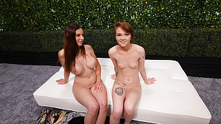Erica and Lillian - Creampie Eaten From Lillians Pussy