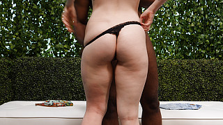 Gina - Big Booty White Girl Creampied