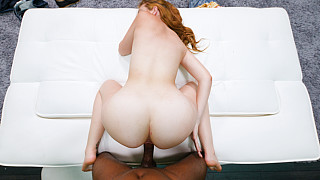 Melody - Redhead With Bubble Butt Loves 1st BBC