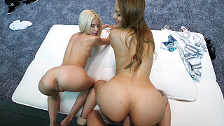 Lex and Kiara - Kiara In For A Pleasant Surprise