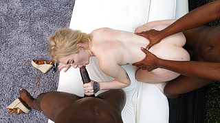 Callie - Anal With Two BBC