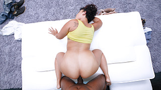 Melissa - Thick Girl With Big Natural Titties