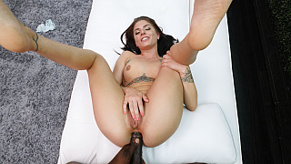 Alex - Petite Girl FIts Huge Dick In Her Ass