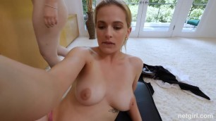 Amy and Sloan - Both Can Barely Take This Huge Cock