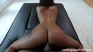 Tracy - Hot Bodied Black Girl Fucked During Casting