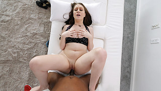 Honey - Pale Skin PAWG Fucked By 1st BBC Picture #8