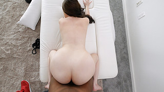 Honey - Pale Skin PAWG Fucked By 1st BBC Picture #9