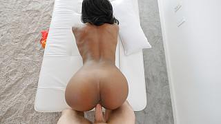 Nicole - Out Of Work Bubble Butt Black Girl Picture #14