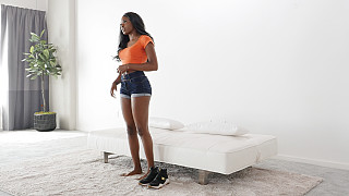 Nicole - Out Of Work Bubble Butt Black Girl Picture #6