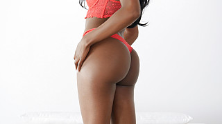 Nicole - Out Of Work Bubble Butt Black Girl Picture #8