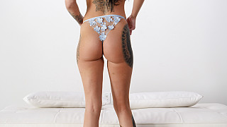 Sabrina - Tattooed Tall Girl With Big Ass Fucks BBC Picture #1