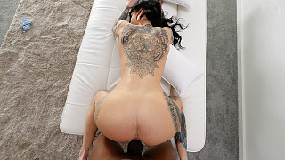 Sabrina - Tattooed Tall Girl With Big Ass Fucks BBC Picture #9