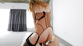 Octavia - Natural Big Titty Blonde In Lingerie Picture #15