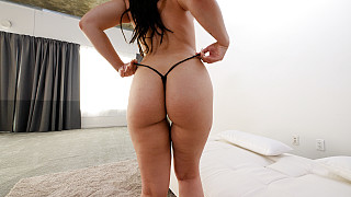 Mia - Horny PAWG In A G String Picture #10