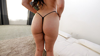 Mia - Horny PAWG In A G String Picture #13