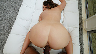 Nolina - Busty PAWG Cums On Her First Big Black Dick Picture #15