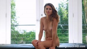Ally - Petite Thing Gets First Anal Creampie