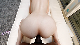 Meloni - 19 Year Old Fucks Her First Black Guy Picture #22
