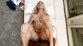 Kay - Perfect Body Blonde Fucks 1st Black Guy Picture #17