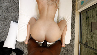 Kay - Perfect Body Blonde Fucks 1st Black Guy Picture #21