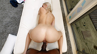 Kay - Perfect Body Blonde Fucks 1st Black Guy Picture #24