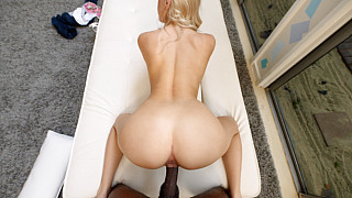 Kay - Perfect Body Blonde Fucks 1st Black Guy Picture #26