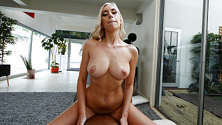 Kay - Perfect Body Blonde Fucks 1st Black Guy Picture #34
