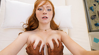 Amber - Innocent Redhead Has Her First Black Dick Picture #15
