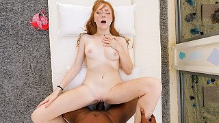 Amber - Innocent Redhead Has Her First Black Dick Picture #17