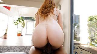 Amber - Innocent Redhead Has Her First Black Dick Picture #28