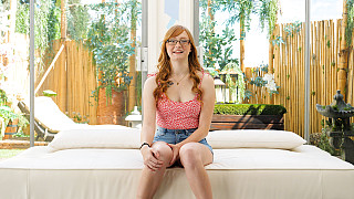 Amber - Innocent Redhead Has Her First Black Dick Picture #3