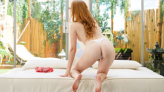 Amber - Innocent Redhead Has Her First Black Dick Picture #9