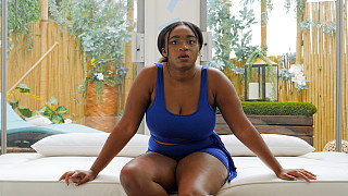 Kai - Ebony Girl With Huge Natural Tits Picture #2