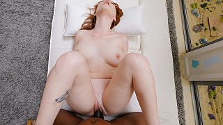 Luna - PAWG Redhead Takes A BBC DEEP Picture #15
