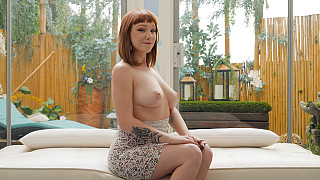 Luna - PAWG Redhead Takes A BBC DEEP Picture #6