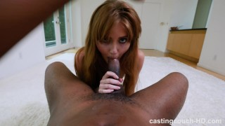 Miley - Quiet Redhead Gets First BBC