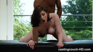 Amilia - All Natural Busty Girl Gets Her First Black Dick